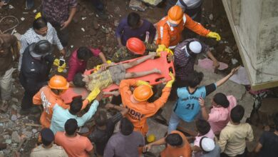 Photo of Thane: Building collapse at Bhiwandi
