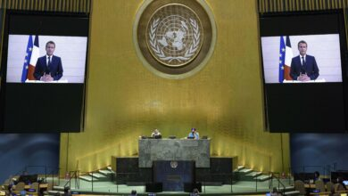 Photo of New York: The U.N's first virtual meeting of world leaders