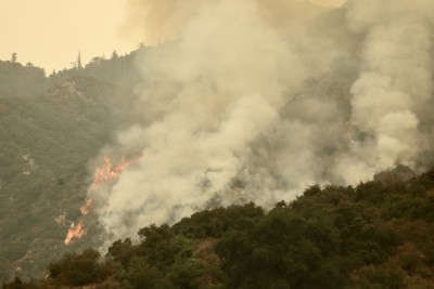 3 wildfires near San Francisco Bay Area almost fully contained