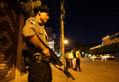 444 arrested for violating curfew in Myanmar