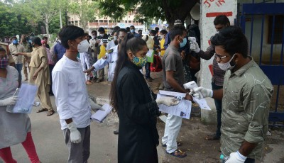 50,000 students appear for NEET in Telangana