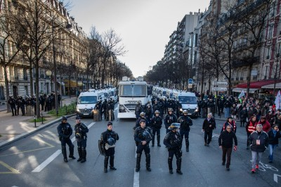 7 detained over attack near ex-Charlie Hebdo HQ in Paris
