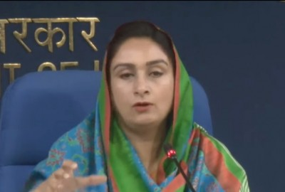 ALERT: Harsimrat Kaur Badal resigns as Union Cabinet Minister for Food Processing