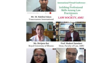 Photo of Virtual Conference on 'Imbibing Professional Skills Among Law Practitioners' by Law Society