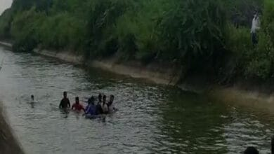 Photo of 2 drown in canal in Andhra's Krishna district