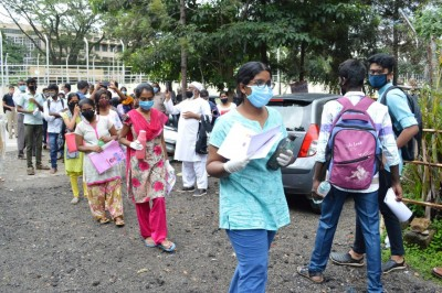 Amid Covid, 1.19 lakh students appear for NEET in K'taka