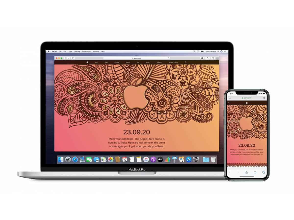 Apple says happy Diwali with 1st India online store on Sep 23