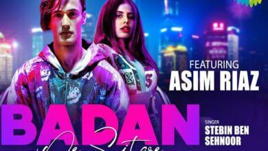 Photo of Asim Riaz gives new twist to Rafi classic 'Badan pe sitare'