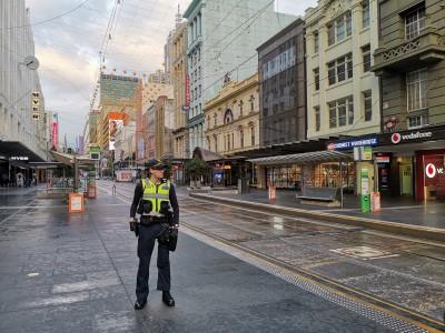 Aus police warn of zero tolerance for anti-lockdown protesters
