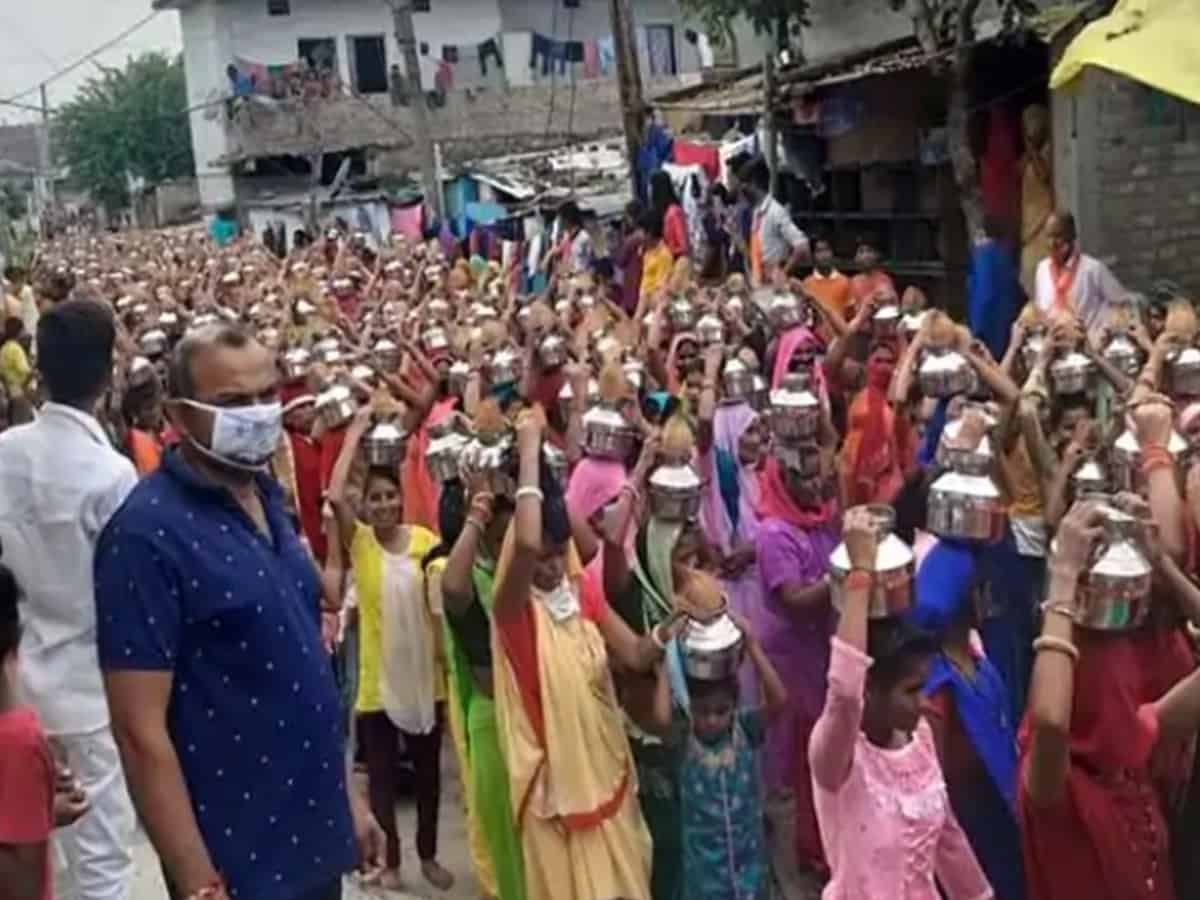 COVID-19 norms flouted at BJP procession in Indore
