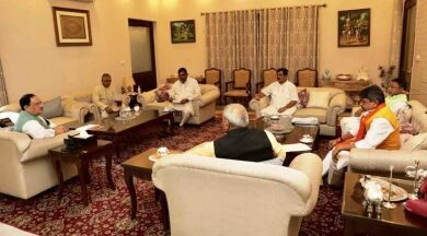 Photo of BJP's core committee meeting discusses law and order in Bengal