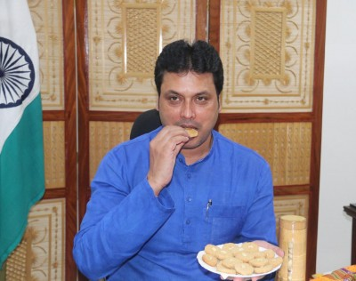 Bamboo cookies, honey bottles to boost immunity for Tripura people