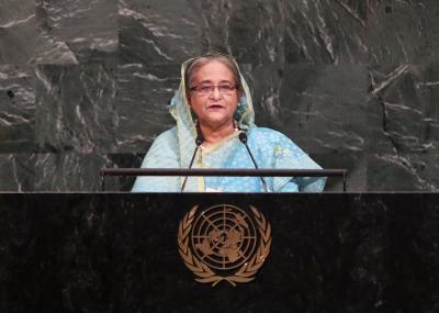 B'desh PM to address 75th UNGA session on Saturday