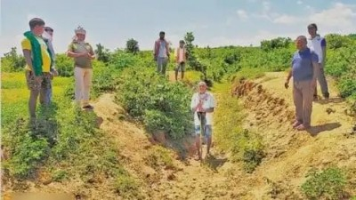 Bihar man digs 5-km canal to bring water to his village