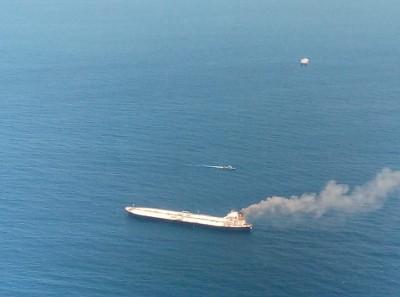 Boarding burning oil tanker saved marine environment: Coast Guard
