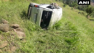 Photo of Pregnant woman dies after car falls into gorge in Udhampur