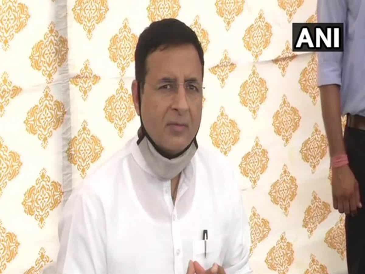 Surjewala hits out at Centre over job losses