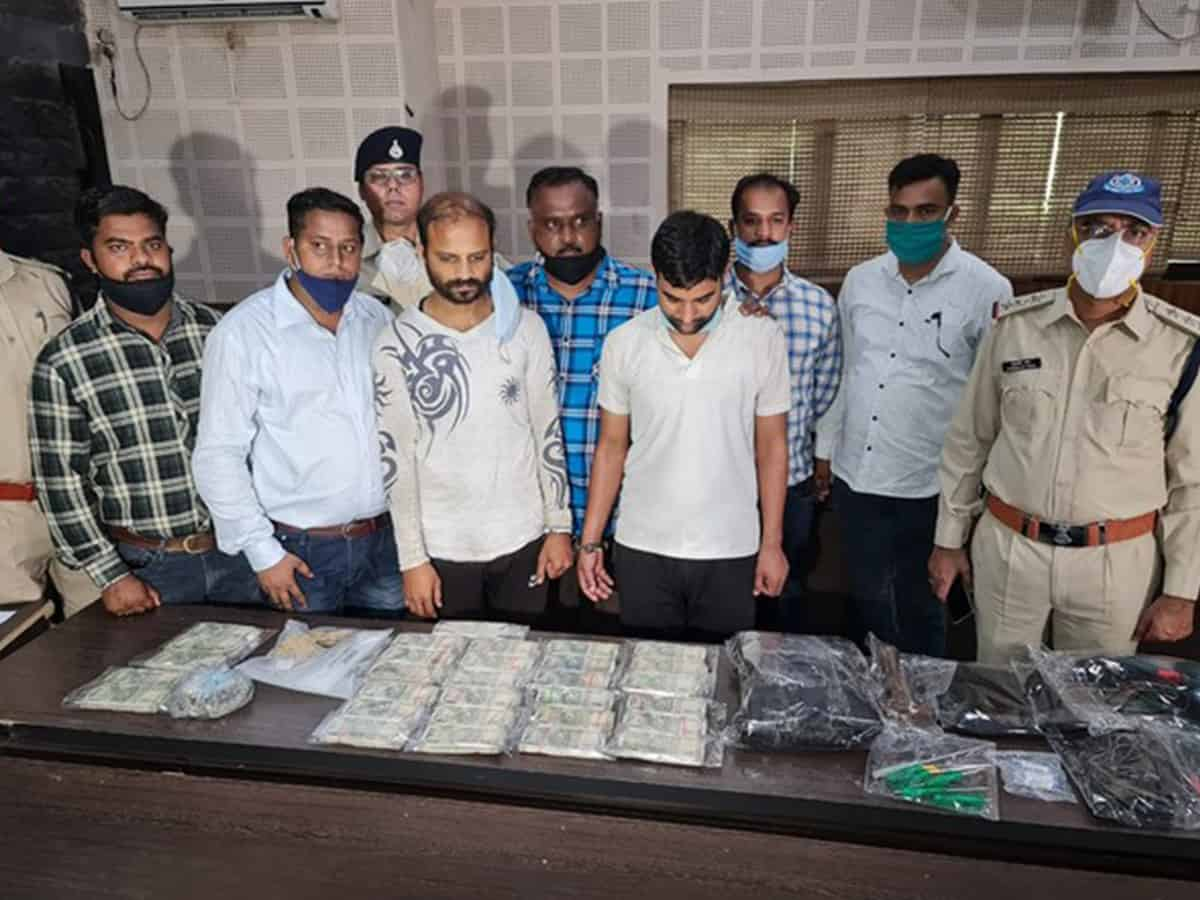 Two held for looting cash from ATMs in two separate incidents in Indore