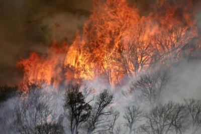 California wildfires: Gusty winds may drive flames into extremity