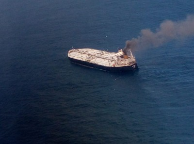 Crack on oil tanker New Diamond can be worrying if it grows