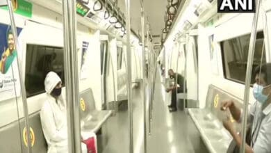 Photo of Delhi Metro restarts with nearly 7,500 passengers in first shift