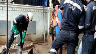 Photo of Body of missing girl found in open drain in Hyderabad