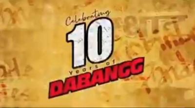 'Dabangg' turns 10: Salman Khan thanks fans for love, support