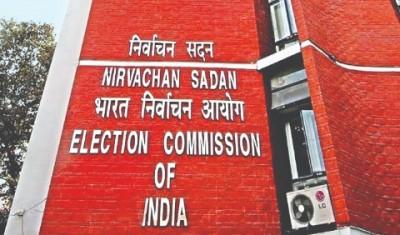 EC team visits Patna to observe Bihar poll preparations