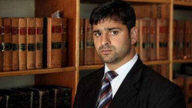 Photo of Kashmir High Court lawyer Babar Qadri shot dead by militants in Srinagar