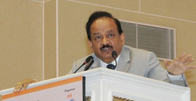 Elimination of TB govt's priority despite pandemic: Harsh Vardhan