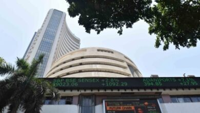 Photo of Equities in red, Sensex down over 100 points