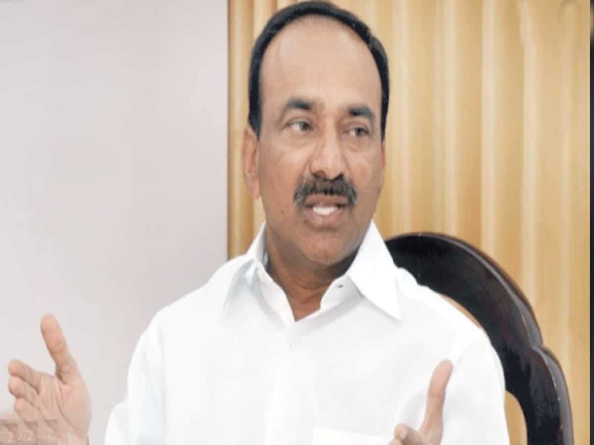 Eatala Rajender resigns from TRS party