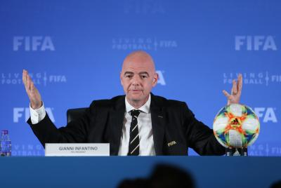 FIFA Prez defends meetings with Lauber