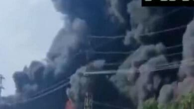 Fire breaks out at chemical factory in Agra's Sikandra