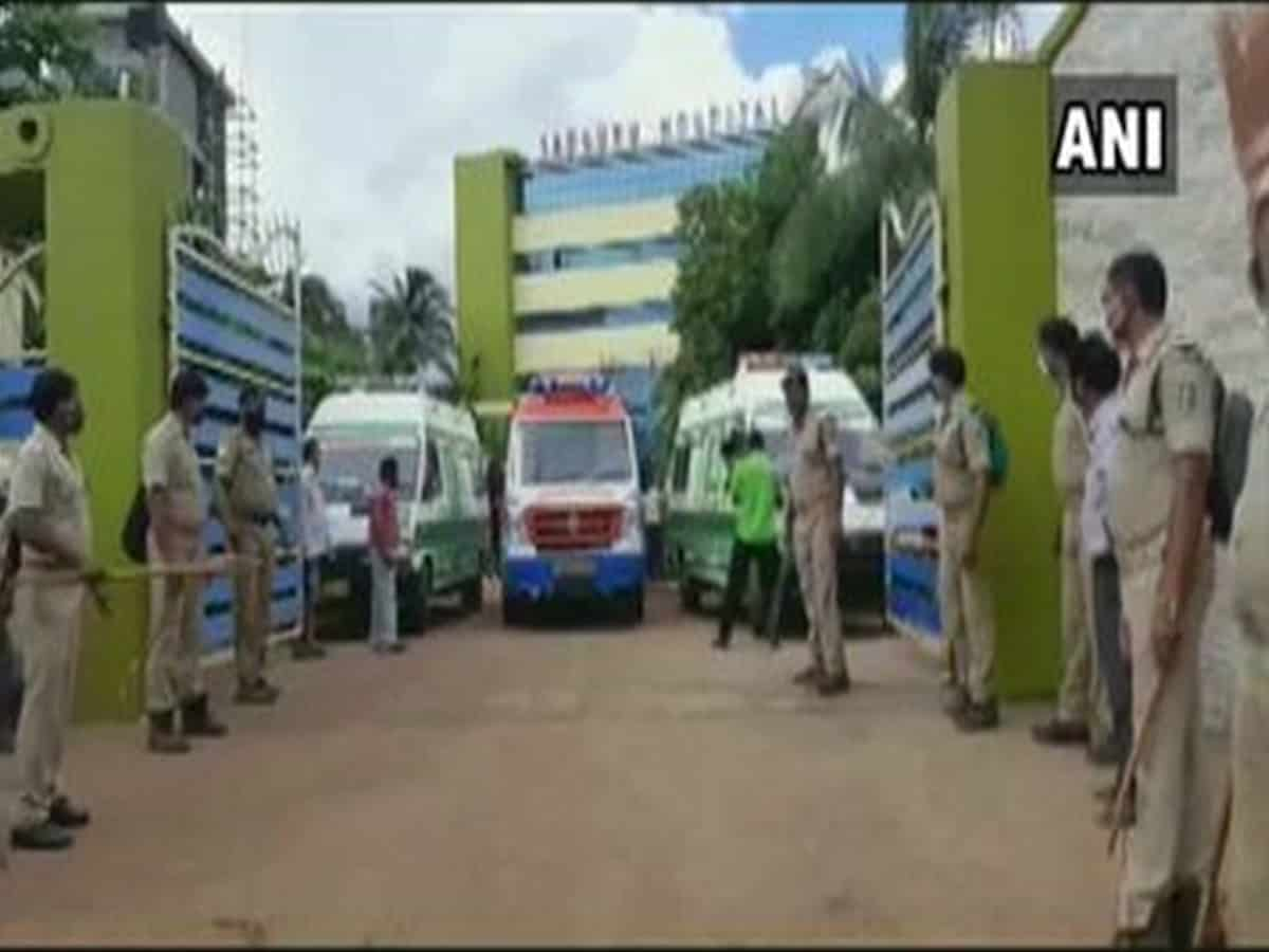 Fire breaks out at COVID hospital in Odisha's Cuttack