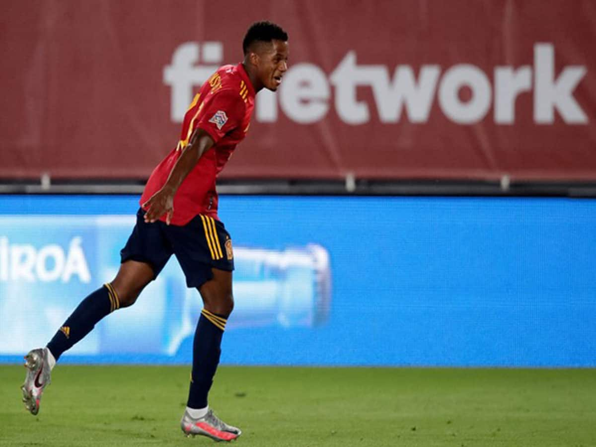 Ansu Fati becomes Spain's youngest-ever goalscorer in win over Ukraine