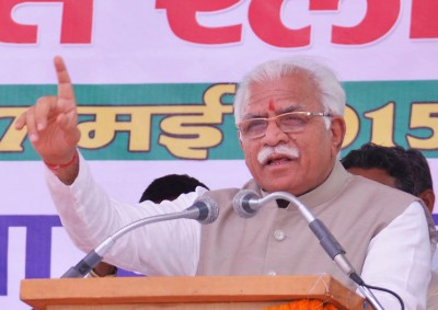 Fearing backlash, Khattar govt to exercise 'restraint' with protesting farmers