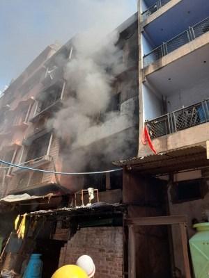 Fire in Delhi warehouse, no casualties