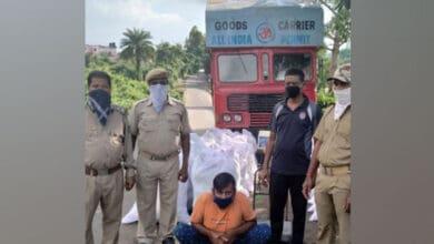 Photo of 1 held, 1,027 kg ganja seized in Odisha's Gajapati
