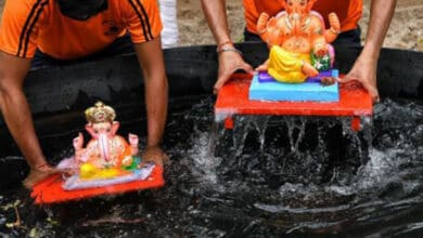 Photo of Over 23,000 idols immersed in Thane during Ganesh Chaturthi