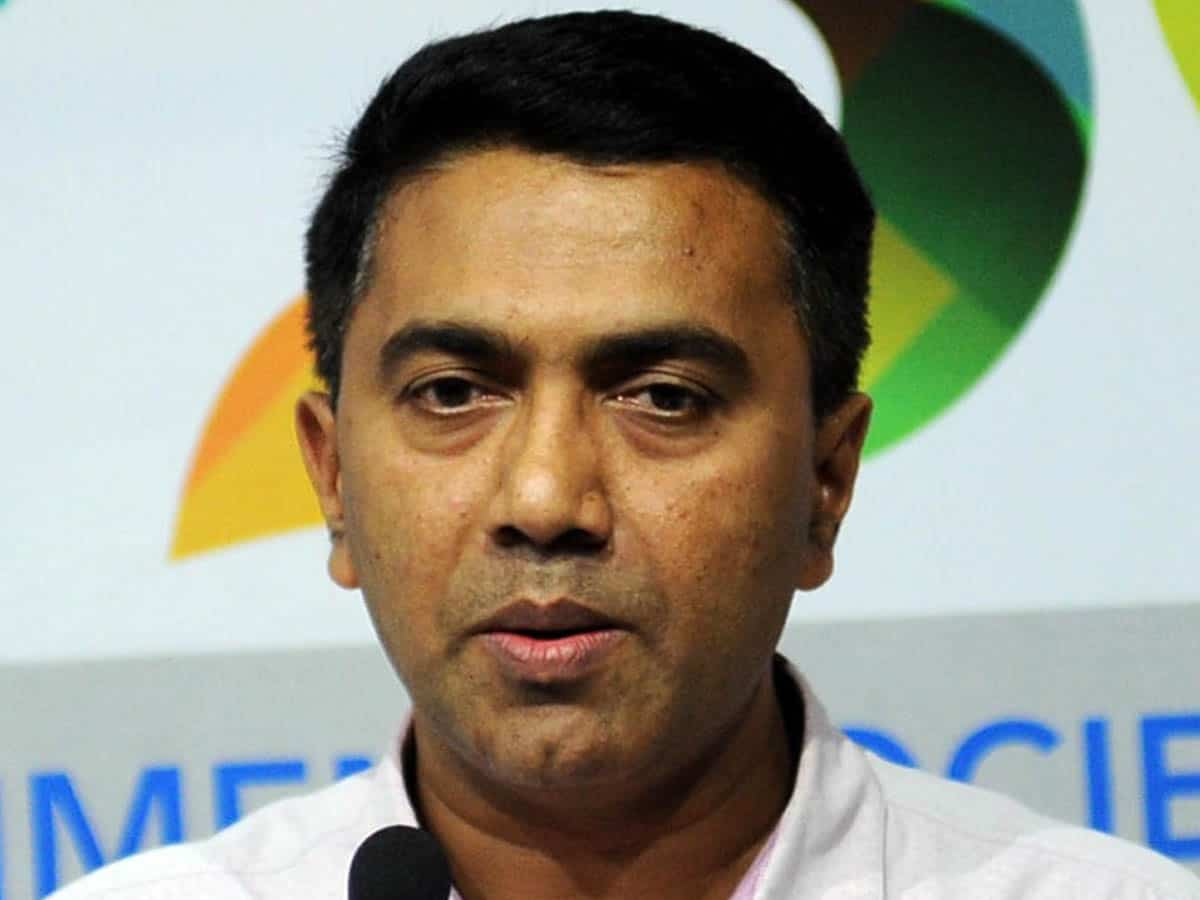 Goa CM Pramod Sawant tests positive for COVID-19