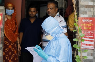 Gujarat reports 1,364 new Covid cases; 12 deaths