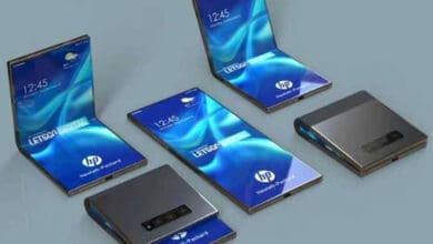 Photo of HP patents clamshell foldable phone like Galaxy Z Flip