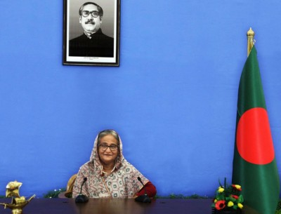 Hasina seeks robust int'l collaboration against climate change