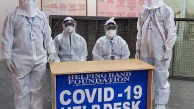 Photo of NGO sets up COVID-19 help desk at Gandhi Hospital