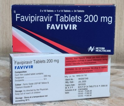 Hetero launches 'patient compliant pack' of Favivir for Covid treatment