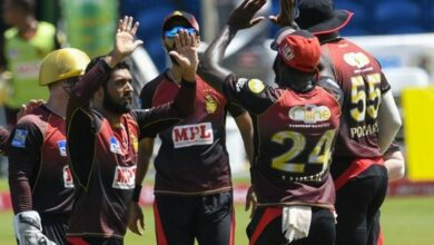 Photo of Hosein, Simmons guide Trinbago Knight Riders to CPL 2020 finals