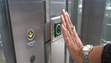 Photo of Hyderabad Airport comes up with contactless elevators