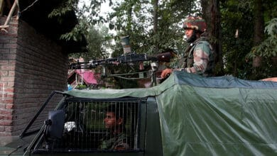 Photo of Security forces and militants clash in Budgam, J&K