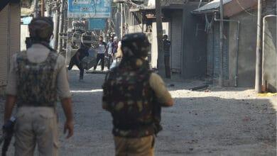 Photo of 3 militants and a civilian killed in encounter at Batmaloo of Srinagar